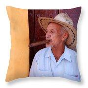 Cigar Throw Pillow