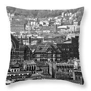 Cincinnati Music Hall Cincinnati Museum Throw Pillow