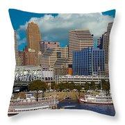 Cincinnati Tall Stacks  Throw Pillow