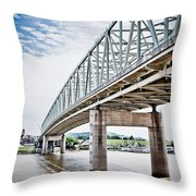 Cincinnati Taylor Southgate Bridge Throw Pillow