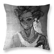 cinderella Simone Throw Pillow