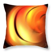 Cinnamon Bun Throw Pillow