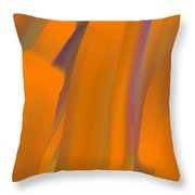 Cinnamon Forest Throw Pillow