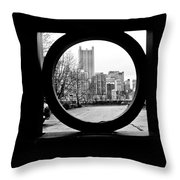 Circumference Throw Pillow