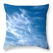 Cirrus Cloud Throw Pillow