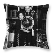 Cisco Kid In Tennessee Throw Pillow