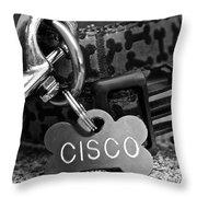 Cisco's Throw Pillow