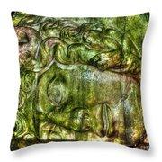 Cistern Medusa Throw Pillow by Michael Garyet