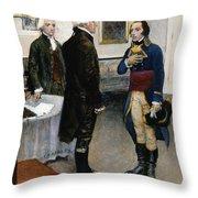 Citizen Gen�t, 1793 Throw Pillow