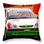 Citroen Throw Pillow