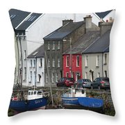City 0019 Throw Pillow