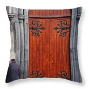 City 0025 Throw Pillow