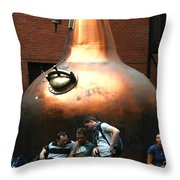 City 0026 Throw Pillow