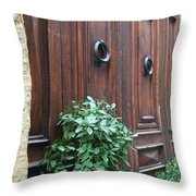 City 0041 Throw Pillow