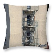 City 0052 Throw Pillow