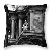 City Hall Edifice - Philadelphia Throw Pillow