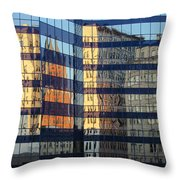 City Reflections 2 Throw Pillow