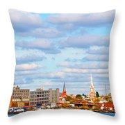 City View Four Throw Pillow