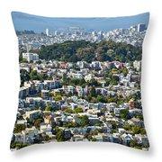 City View Throw Pillow