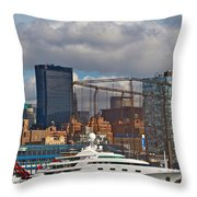 City View One Throw Pillow