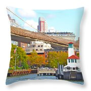 City View Three Throw Pillow