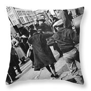 Civil Rights, 1960 Throw Pillow