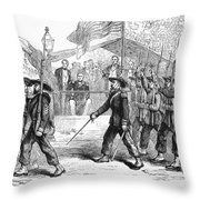 Civil War: 39th Regiment Throw Pillow