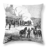 Civil War: 7 Days Battles Throw Pillow