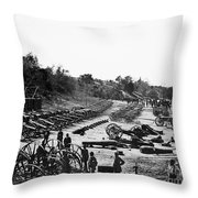 Civil War: Artillery Throw Pillow