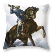 Civil War: Bugler, 1863 Throw Pillow