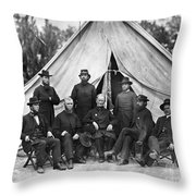 Civil War: Chaplains, 1864 Throw Pillow