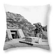 Civil War: Drewrys Bluff Throw Pillow