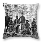 Civil War: Engineers Throw Pillow