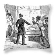 Civil War: Food Shortage Throw Pillow