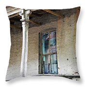 Civil War Hospital Memphis Throw Pillow