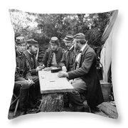 Civil War: Leisure, 1862 Throw Pillow