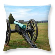 Civil War Lone Canon  Throw Pillow