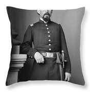 Civil War Major, C1865 Throw Pillow