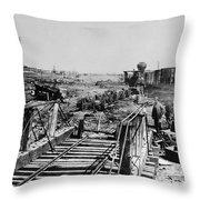 Civil War: Manassas, 1862 Throw Pillow