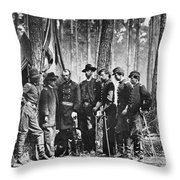 Civil War: Mathew Brady Throw Pillow