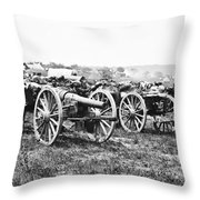 Civil War: Parrott Guns Throw Pillow
