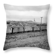 Civil War: Railroad, 1864 Throw Pillow