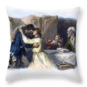 Civil War: Returning Home Throw Pillow