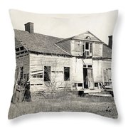 Civil War: Shirley House Throw Pillow
