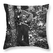 Civil War: Soldier, 1861 Throw Pillow