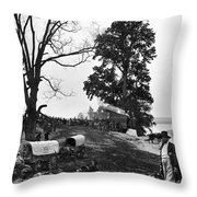 Civil War: Supply Base, 1864 Throw Pillow
