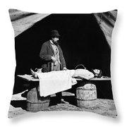 Civil War: Surgeon Throw Pillow