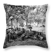 Civil War: Torpedo Shells Throw Pillow