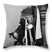 Civil War: Union General Throw Pillow