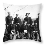 Civil War: Veterans Throw Pillow